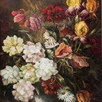 Kurt Schuldt Kunstmaler Galerie-Blumenbilder